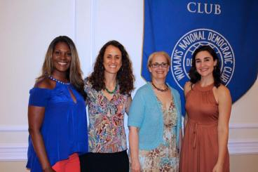 Eulonda and other filmmakers present at the Women in Film and Video-DC event